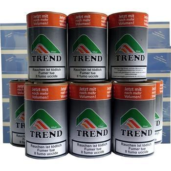 Tabak Trend Silver und Doppelfilterhülsen