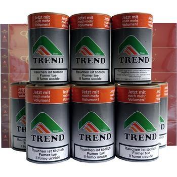 Tabak Trend Silver & Genius Filterhülsen