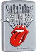Zippo Satin Finish Rolling Stone 60001423