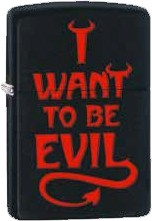Zippo I Want To Be Evil 60002479
