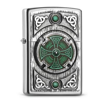 Zippo Pl Celtic Green Cross 2005167