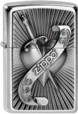 Zippo Heart With Sword 2003969