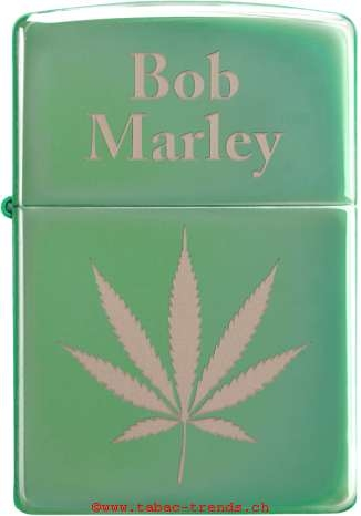 Zippo 60004518 Bob Marley Leaf