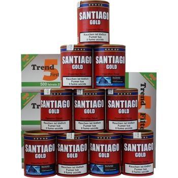 Santiago Gold Tabak & Trend Filterhülsen