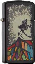 Zippo Slim Dancing Lady 60002070
