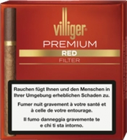 Villiger Premium Vanilla Red Filter 5 x 20 Cigarillos