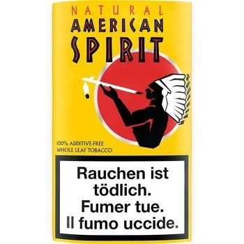 American Spirit Yello Pouch