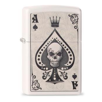 Zippo Ace Skull Card 60001386