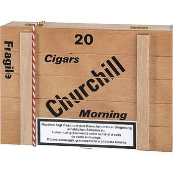 Dannemann Churchill Morning - 20 Zigarren