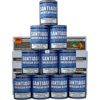 Santiago American Blend & Trend Doppel-Carbon Filterhülsen