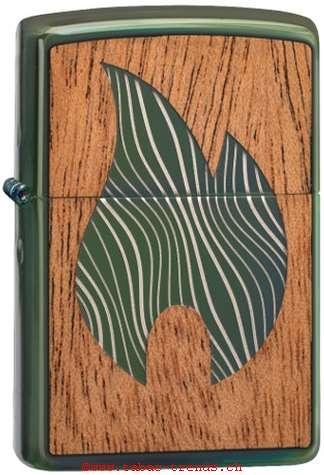 Zippo 60004754 Wood Flame Beidseitig