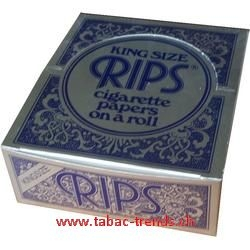 Rips blau King Size