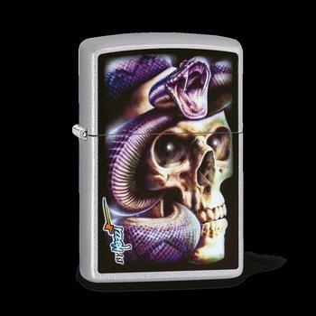 Zippo Mazzi Skull Snake 60003538
