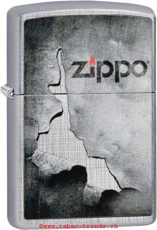 Zippo 60004576 Peeled Metal Design