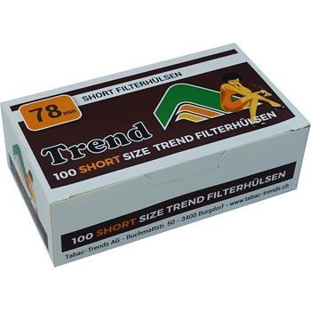 Trend Short 78mm Filterhülsen