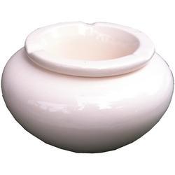 Keramikaschenbecher Ø 14cm weiss