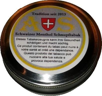 A+S Schweizer Schnupftabak - 5 x 10g
