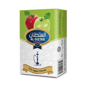 Al Sultan Two Apple Shishatabak