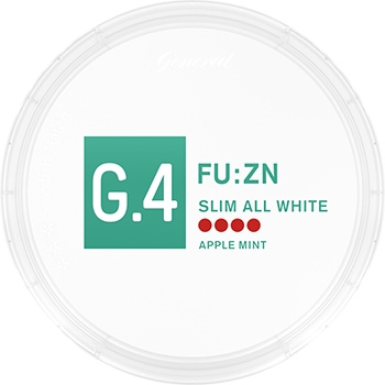 G.4 FU:ZN Slim All White Snus