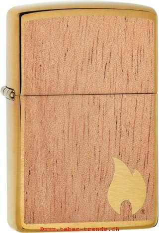 Zippo 60004583 Woodchuck Brushed Brass