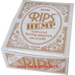 Rips Slim Hemp - 24er Verkaufsbox