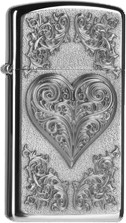 Zippo Slim Heart Ornament 2004523
