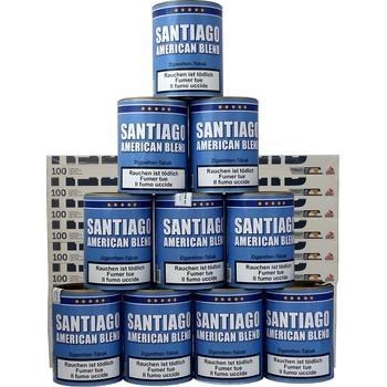 Santiago American Blend & Gizeh Carbon Hülsen