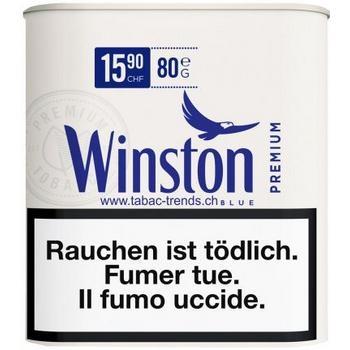 Winston Blue Premium Tabak Dose