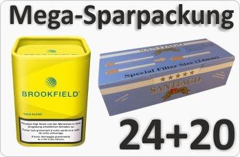 Brookfield Gold mit Doppelfilterhülsen