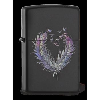 Zippo Feathered Heart 60002013
