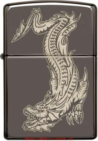 Zippo 60004565 Dragon And Tiger Design