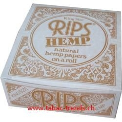 Rips Hemp King Size - 24er Grosspackung