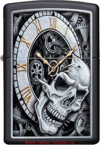 Zippo 60004591 Skull Clock
