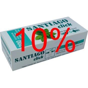 Aktion: Santiago Click Filterhülsen