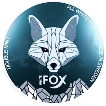 White Fox Doublemint Slim Snus