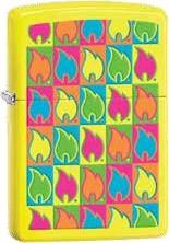 Zippo Neon Yellow Color 60001610