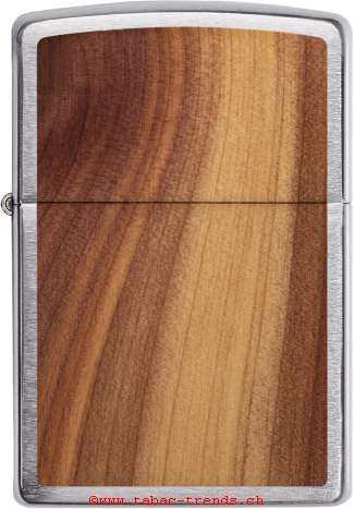 Zippo 60004584 Woodchuck Brushed Chrome