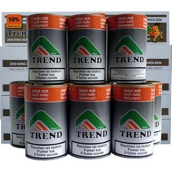 Tabak Trend Silver & Trend Doppel-Carbon Filterhülse
