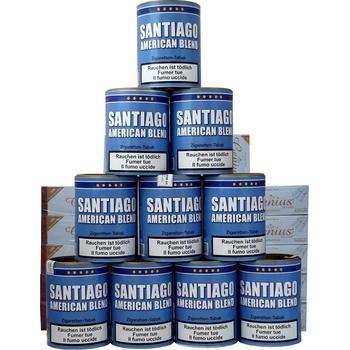 Santiago American Blend & Weisse Filterhülsen