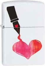 Zippo Inked Heart 60002483