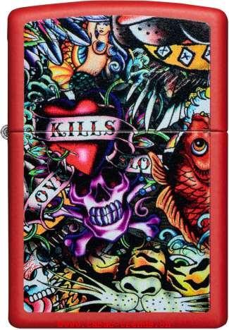 Zippo 60004778 Kills-Graffiti Tattoos