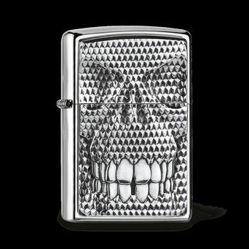 Zippo Carbon Skull 2005360
