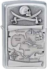 Zippo Pirates Tresor Map 1300088