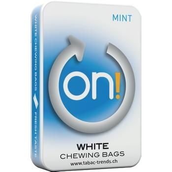 ON! Mint - White Chewing Bags