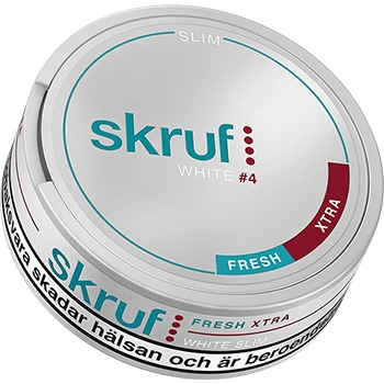 Skruf Slim Fresh Xtra Strong #4 Snus