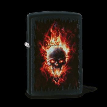 Zippo Burning Skull 60003323