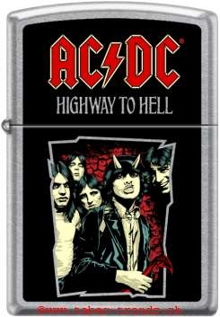 Zippo 60004724 AC-DC Higway to Hell
