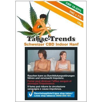 Tabac Trends Indoor CBD Hanf 10g