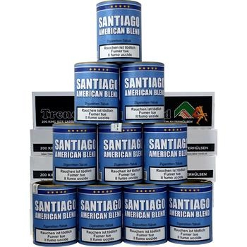 Santiago American Blend & Trend Carbon Hülsen