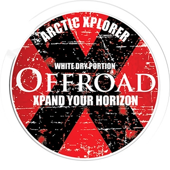 Offroad X White Dry Snus